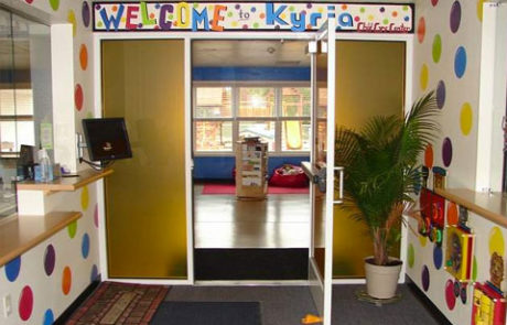 Kyria Childcare Center Main Entrance